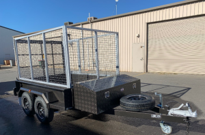 NEW TRAILER SALES – Caged Trailers